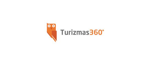 owl logo turizmas 360 25