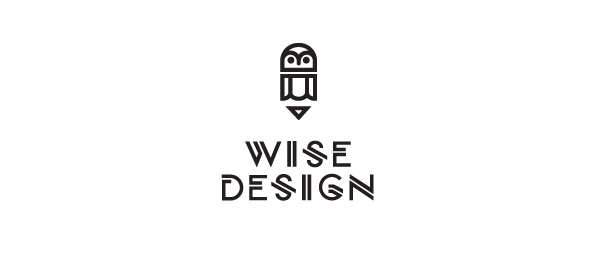 owl logo wise design 9