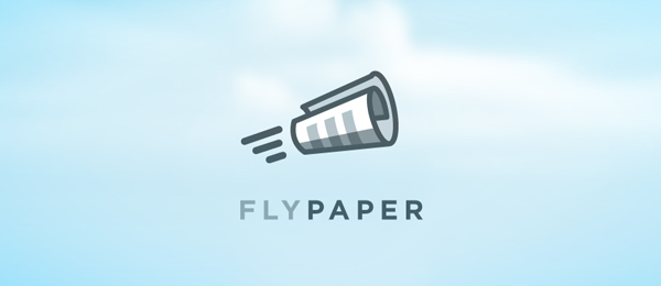 fly paper logo design 16