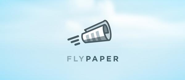 fly paper logo design 16