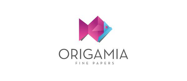 paper fish logo idea 10