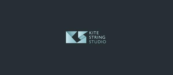paper logo kite string studio 53