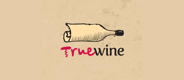 paper logo true wine 22