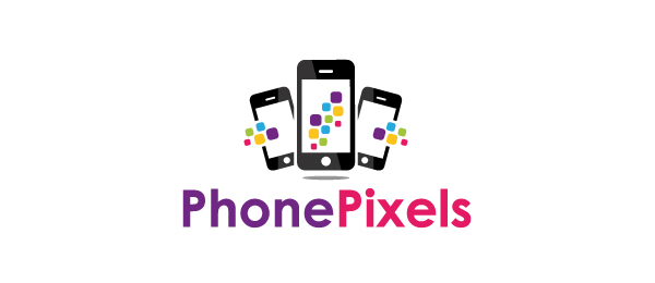 50 cool phone logo designs for inspiration hative