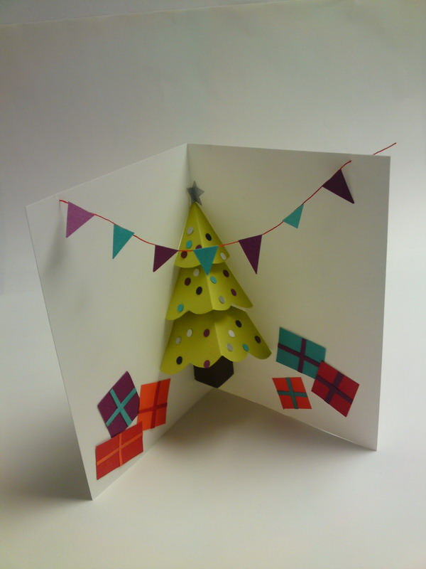 30+ Pop Up Christmas Cards - Hative