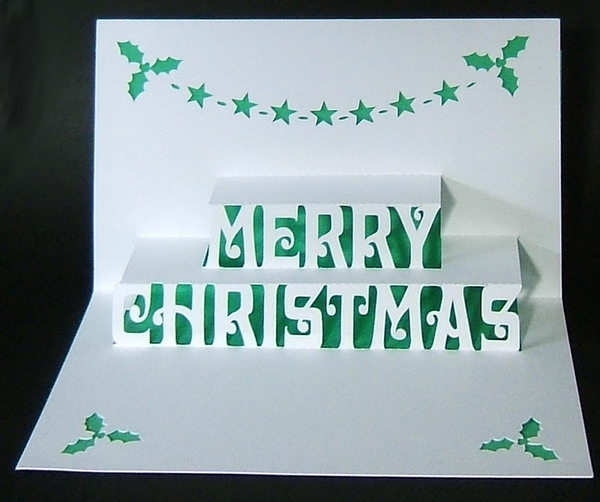 30  pop up christmas cards