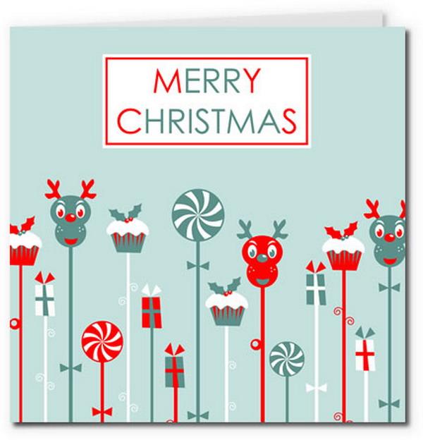 40+ Free Printable Christmas Cards