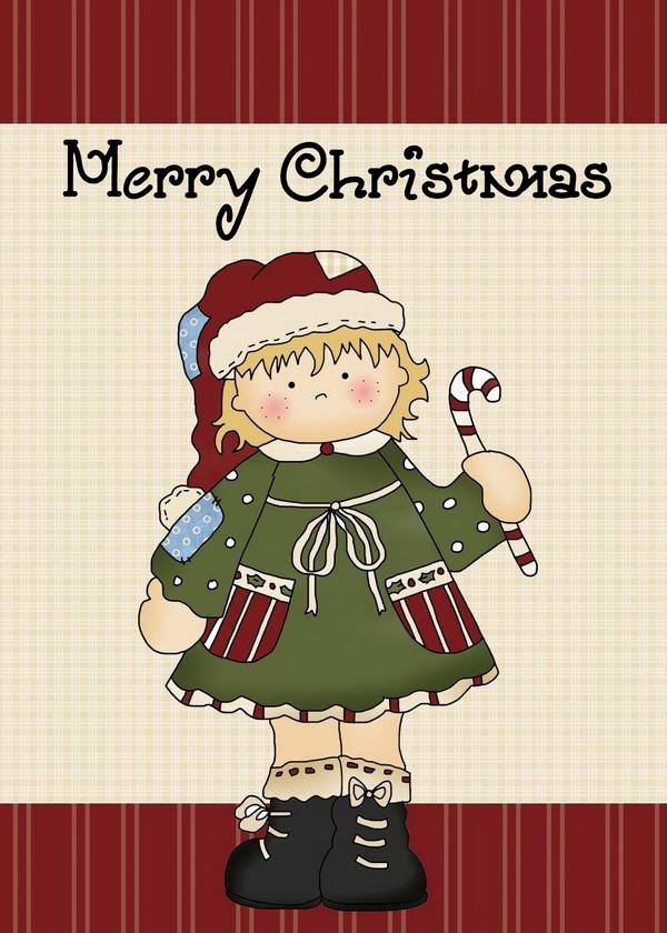 free printable christmas card 1 - Free Printable Xmas Cards