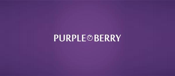 purple berry logo idea 25