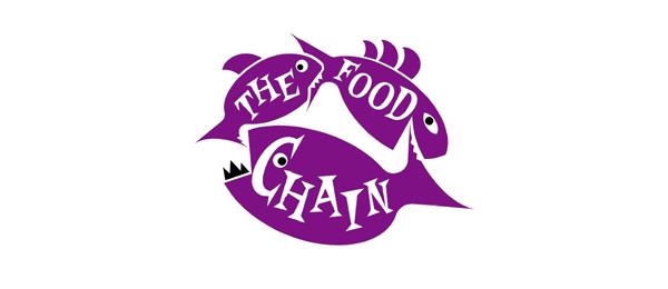 purple fish logo design 10