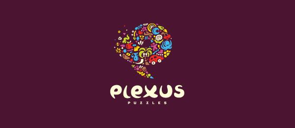 purple flowers logo plexus puzzles 51