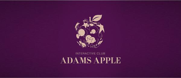 purple logo adams apple 13