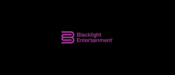 purple logo b e typography 28