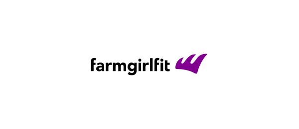purple logo farm girl fit 39