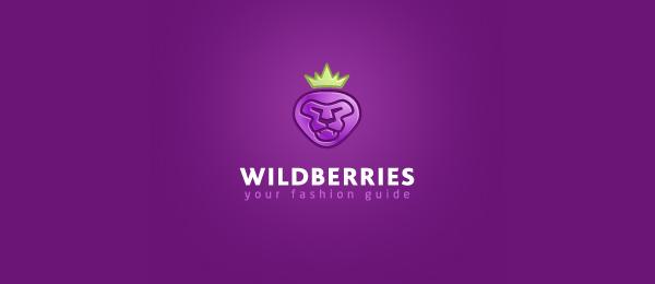 purple logo lion berry 30