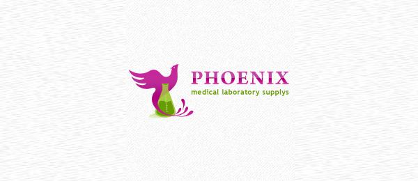 purple phoenix logo 38