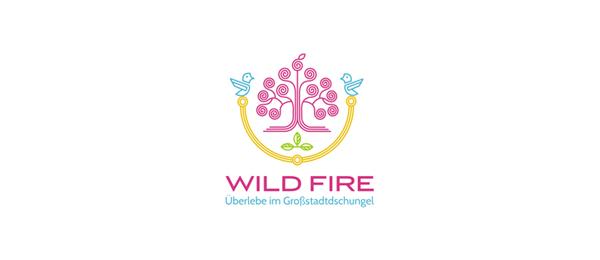 wild fire purple logo 34