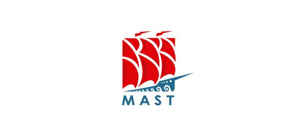 red boat logo mast 4