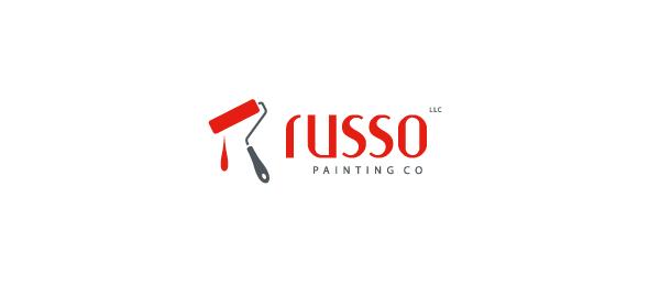 red brush logo russ 22