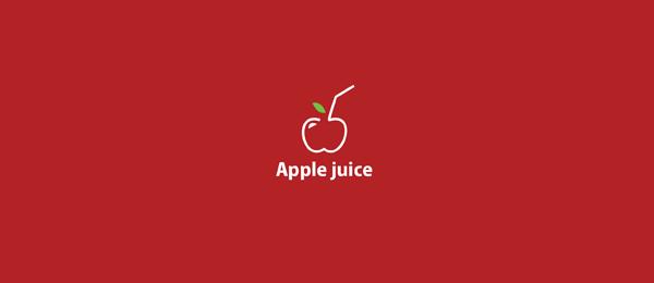 red logo apple juice 21