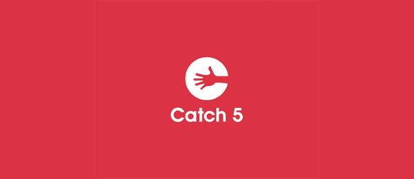 red logo catch5 12
