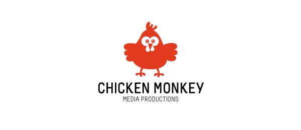 red logo chicken monkey 20