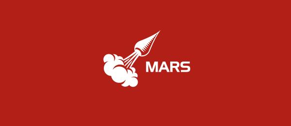red logo mars 6