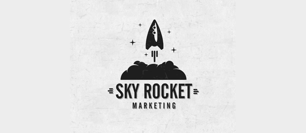 50 cool rocket logo designs for inspiration hative rocket logo marketing 3 thecheapjerseys Choice Image