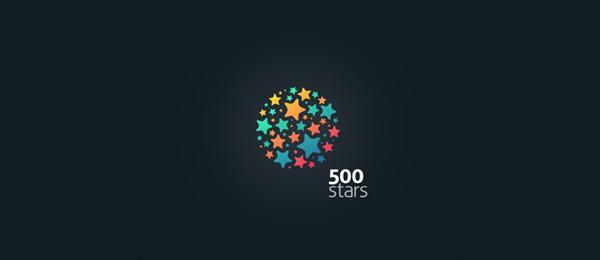 logos with stars