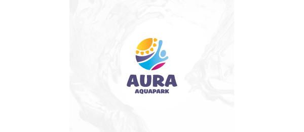 aquapark sun logo 10
