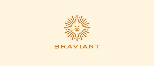 lion sun logo braviant 28
