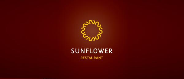 sun flower logo idea 24