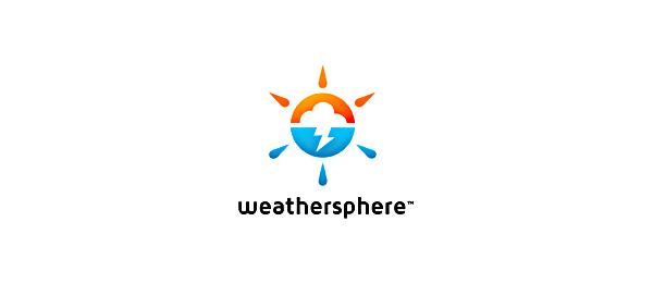 sun logo weather sphere 7
