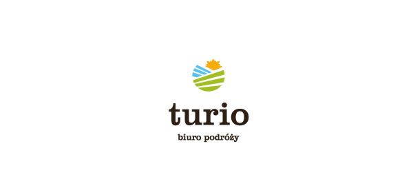 travel agency sun logo 54