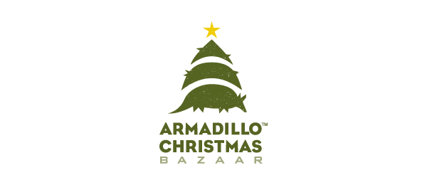 armadillo christmas tree logo 48