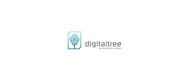 digital tree logo 13