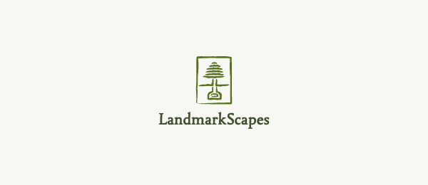 green tree logo landmark scapes 22