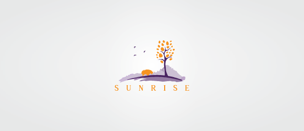 orange tree logo sunrise 4