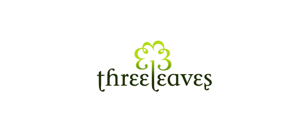 three leaves logo 25