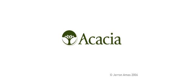 tree logo acacia 50