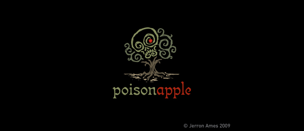 tree logo poison apple 35