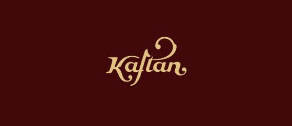 kaftan typographic logo 30