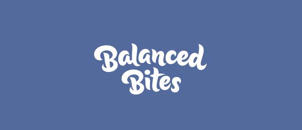 typo logo balanced bites 16
