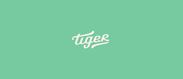 typo logo design tiger 11