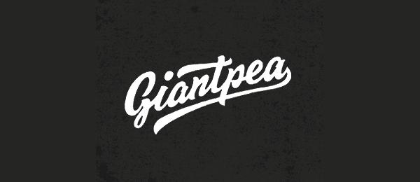 typo logo giantpea 13
