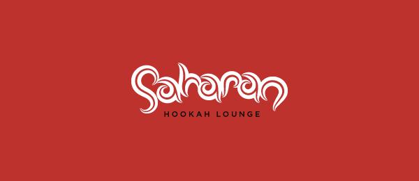 typo logo saharan lounge 28