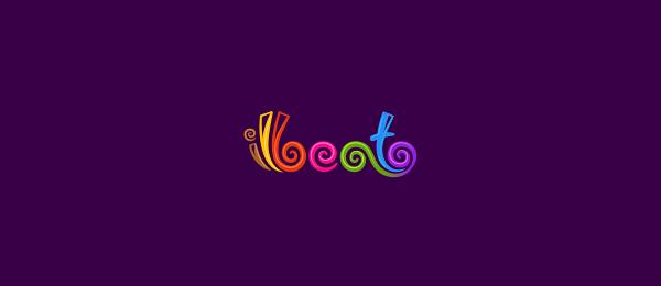 typographic logo ilbeato 49