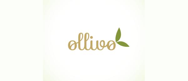 typographic logo ollivo 48