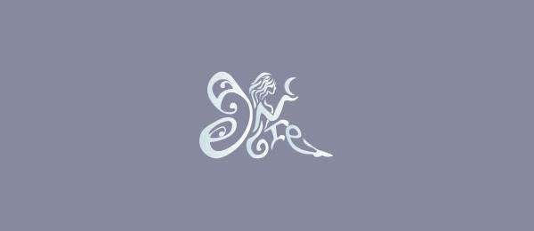 typography logo angel 4