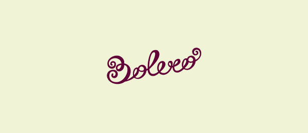 typography logo bolero 50